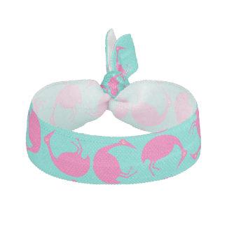 Modieuze Retro Stijl die Roze Flamingo's Aq Haarelastiekje