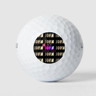 Modieuze, Slimme Golfbal voor John Golfballen