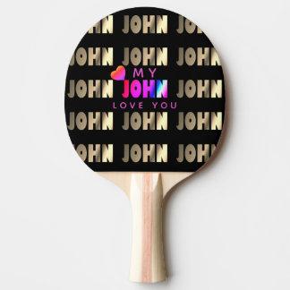Modieuze, Slimme Knuppel voor John Tafeltennis Bat