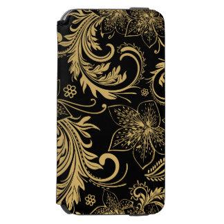 Modieuze zwarte en gouden Portefeuille