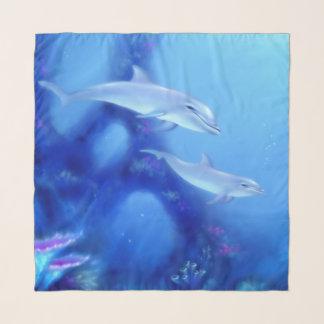Moeder & de Dolfijn van het Baby Sjaal