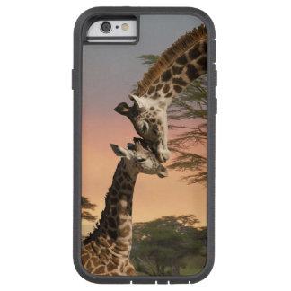Moeder en de Giraf van het Baby, iPhone 6, Taai Tough Xtreme iPhone 6 Hoesje