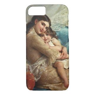 Moeder en Kind 1885 iPhone 7 Hoesje