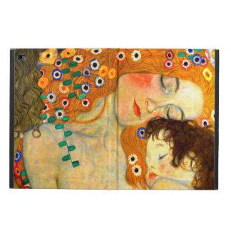 Moeder en Kind door de Jugendstil van Gustav Klimt