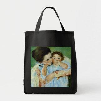 Moeder en Kind door Mary Cassat Draagtas