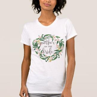 moeder van bruid bloemenkroon -7 t shirt