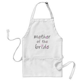 Moeder van de Bruid Standaard Schort