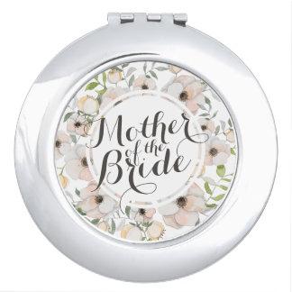 Moeder van de Compacte Spiegel van het Huwelijk Make-up Spiegel