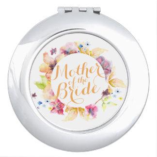 Moeder van de Compacte Spiegel van het Huwelijk Make-up Spiegeltje