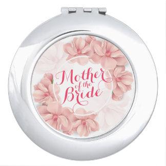 Moeder van de Compacte Spiegel van het Huwelijk Make-up Spiegeltjes