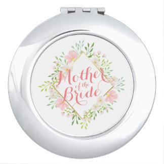Moeder van de Compacte Spiegel van het Huwelijk Makeup Spiegels