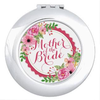 Moeder van de Compacte Spiegel van het Huwelijk Reisspiegeltje