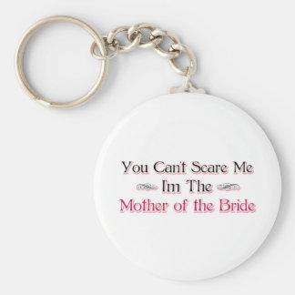 Moeder van de Humor van de Bruid Basic Ronde Button Sleutelhanger