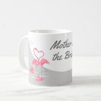 Moeder van de Maan van de Liefde van de flamingo Koffiemok