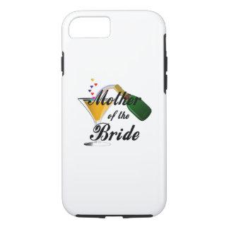 Moeder van de Toost van Champagne van de Bruid iPhone 8/7 Hoesje