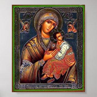 Moeder van Eeuwige Hulp Poster
