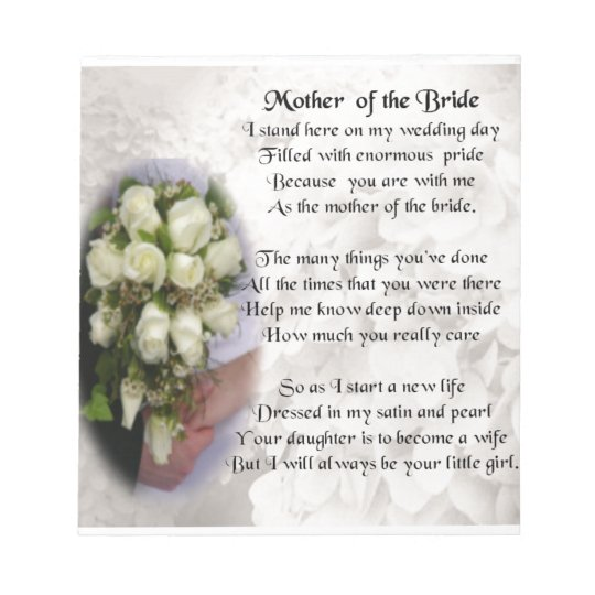 Goede Moeder van het Gedicht van de Bruid - Boeket 2 van Notitieblok BG-93