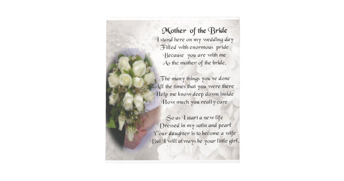 Wonderlijk Moeder van het Gedicht van de Bruid - Boeket 2 van Notitieblok GH-87