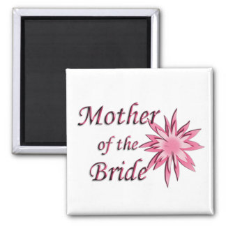Moeder van het Roze van de Bruid Magneet