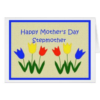 Moederdag voor Stiefmoeder Wenskaart