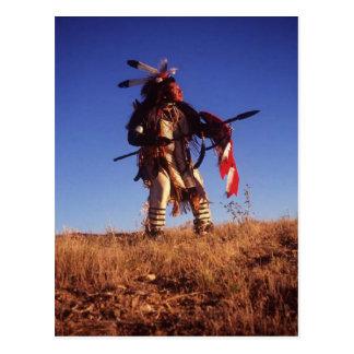 Moedig briefkaart Ute_Warrior