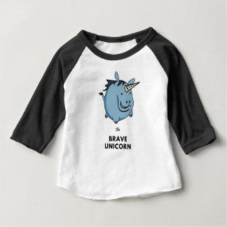 Moedige Eenhoorn Baby T Shirts