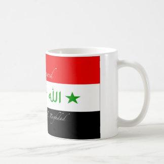 Mohammed Mug - de Oude Vlag van Irak Koffiemok