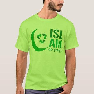 Mohammedanisme - ga Groen T Shirt