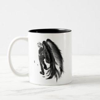 mok, Donkere Engel Tweekleurige Koffiemok