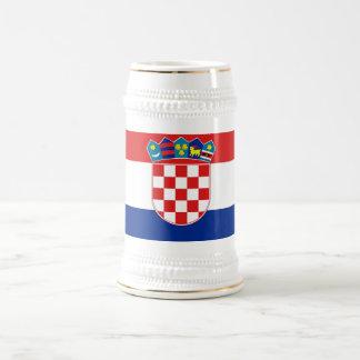 Mok met Vlag van Kroatië