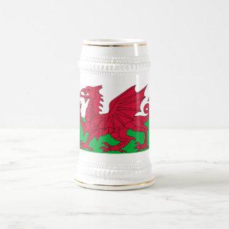 Mok met Vlag van Wales