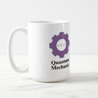 mok, quantum mechanisch, oneindig vierkant goed koffiemok