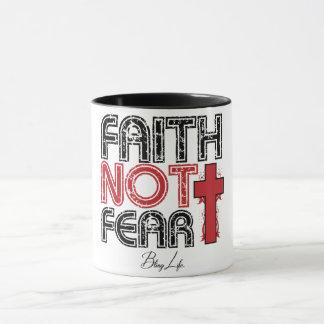 Mok van 11 oz Combo van de Vrees van het geloof