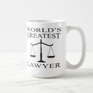 Mok van de Advocaat van de wereld de Grootste