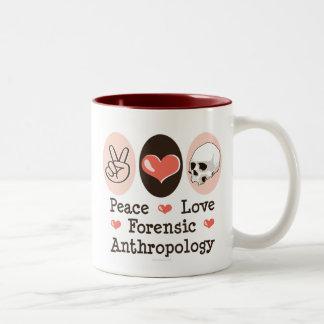 Mok van de Antropologie van de Liefde van de vrede