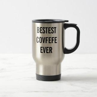 Mok van de de koffiereis van BESTEST COVFEFE OOIT