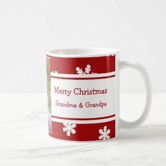 Mok van de Grootouders van Kerstmis van de foto de