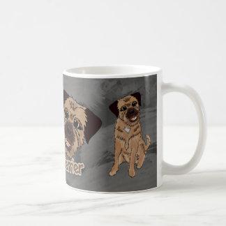 Mok van de Hond van Terrier van de grens de