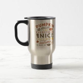 Mok van de Koffie van de Reis van de Herfst van