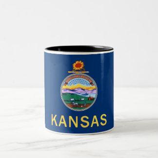 Mok van de Koffie van de Vlag van de Staat van