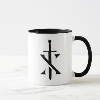 Mok van de Koffie van de Voorvechter van ridders