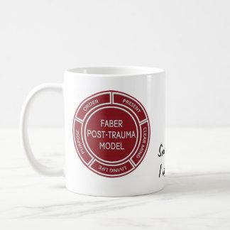 Mok van de Koffie van het Trauma van Faber de Post