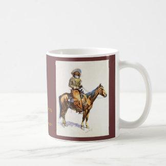 Mok van de Kunst van Remington van de Cowboy van