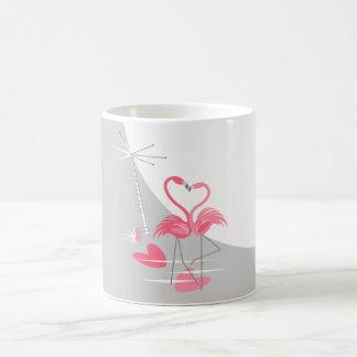 Mok van de Maan van de Liefde van de flamingo de