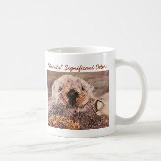 Mok van de Otter van de Valentijnsdag van de Otter