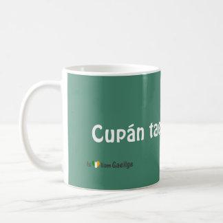 Mok van de Taal Gaeilge van de kop thee de Ierse