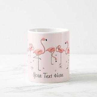"""Mok van de """"Tekst"""" van de Lijn van flamingo's de"""