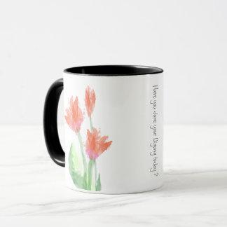 Mok van de Tulpen van Qigong de Rode