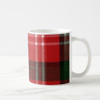 Mok van het Geruite Schotse wollen stof van Nisbet
