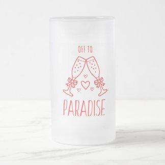 Mok van het Glas van het paradijs de Liefde